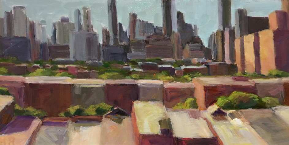 """Cityscape Afternoon 