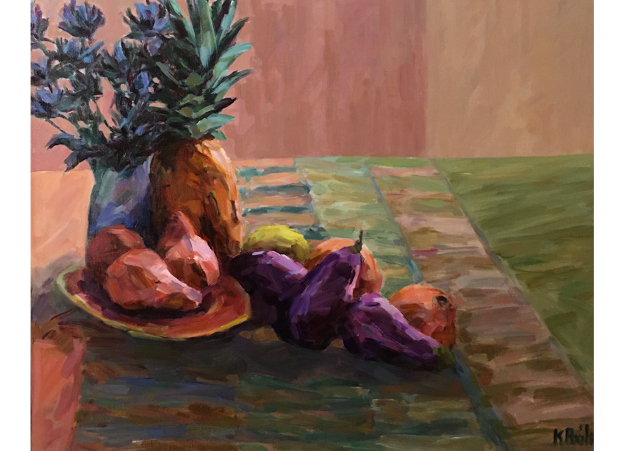 """Pineapple with Pears 