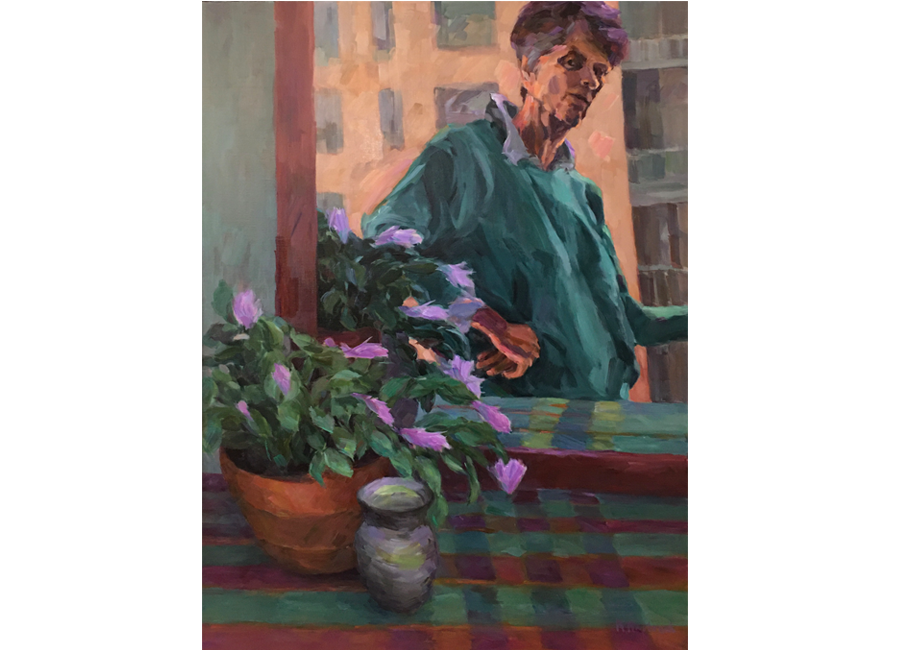 "Artist Studio NYC | 40""x30""| $3000"