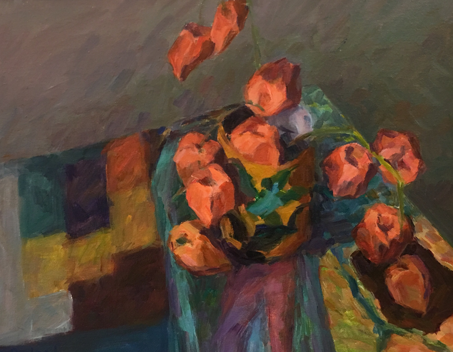"Homage a Bonnard | 16""x20"" | $1000"