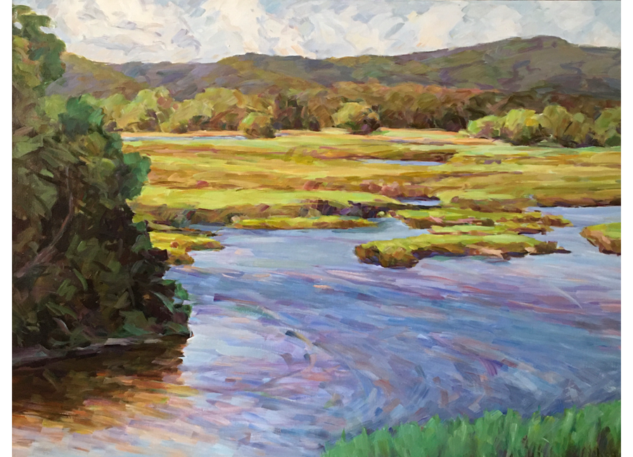 """Lords Cove   30""""x40""""   $2500"""