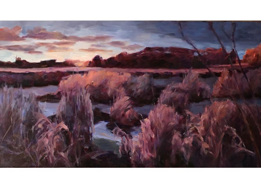 """Winter Wetlands   18""""x36""""   $2500"""