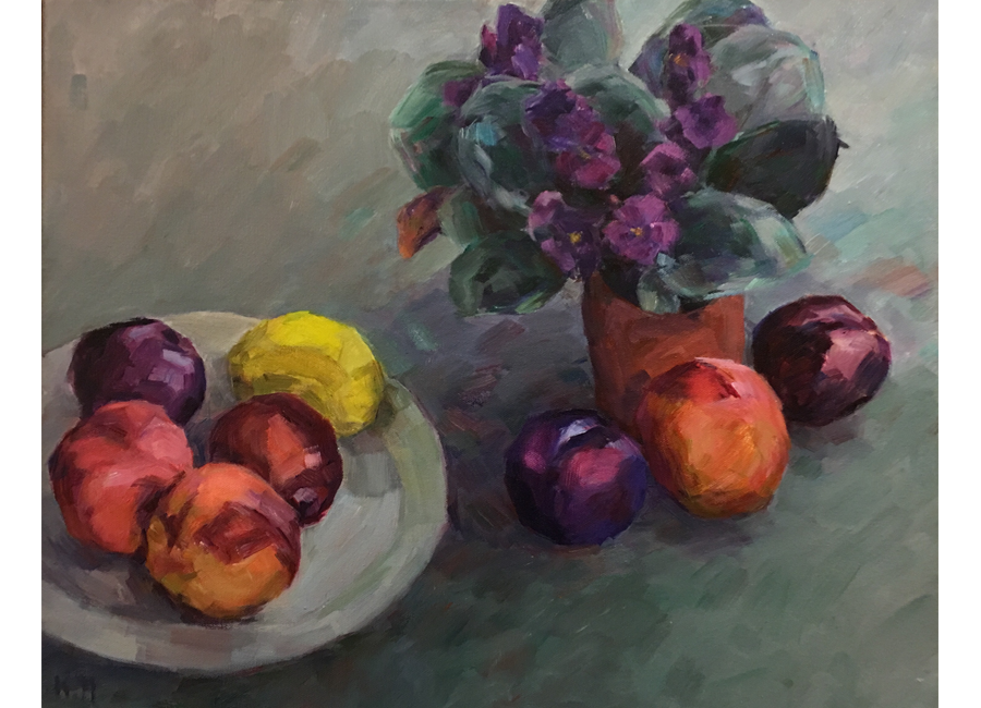 """Violets and Plums 
